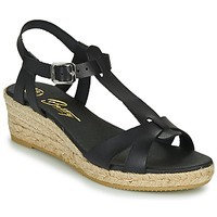Zapatos Mujer Sandalias Betty London OBORSEL Negro