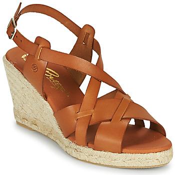 Zapatos Mujer Sandalias Betty London OSAVER Camel