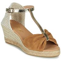 Zapatos Mujer Sandalias Betty London OREINOA Camel