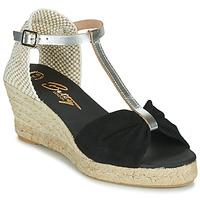 Zapatos Mujer Sandalias Betty London OREINOA Negro