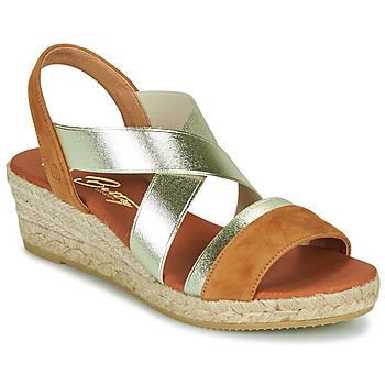 Zapatos Mujer Sandalias Betty London OLINDRE Cognac