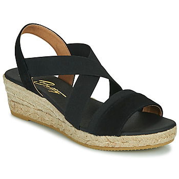 Zapatos Mujer Sandalias Betty London OLINDR Negro