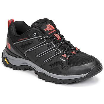 Zapatos Mujer Senderismo The North Face HEDGEHOG FUTURELIGHT Negro / Rojo