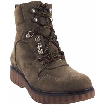 Zapatos Mujer Botas de caña baja Csy Botín señora CO & SO pach003 taupe Marrón
