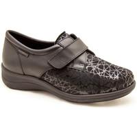 Zapatos Mujer Derbie & Richelieu Calzamedi S  ELASTICO DIABETICO NEGRO