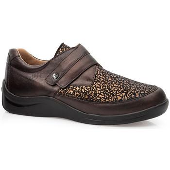 Zapatos Mujer Derbie & Richelieu Calzamedi S  ELASTICO DIABETICO 0750 MARRON