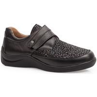 Zapatos Mujer Derbie & Richelieu Calzamedi S  ELASTICO DIABETICO 0750 NEGRO