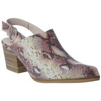 Zapatos Mujer Zuecos (Clogs) Calzados Vesga Zueco Campero y Tejanos para Mujeres de Melcris 6511 Rosa