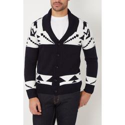 textil Hombre Chaquetas de punto War Wolf WH68066 AZUL