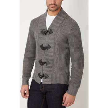 textil Hombre Chaquetas de punto War Wolf WH68069 AZUL