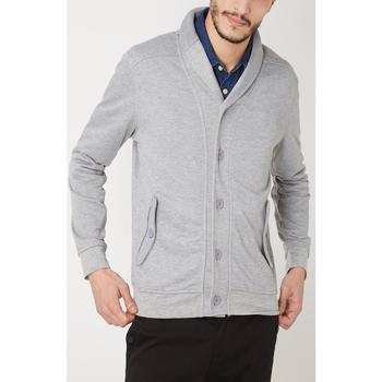 textil Hombre Chaquetas de punto War Wolf WY68210 GRIS