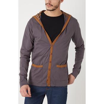 textil Hombre Chaquetas de punto War Wolf WY68201 GRIS