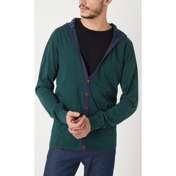 textil Hombre Chaquetas de punto War Wolf WY68201 AZUL