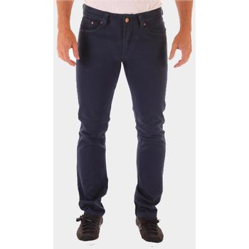textil Hombre Pantalones con 5 bolsillos War Wolf F258 AZUL