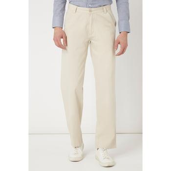 textil Hombre Pantalones chinos War Wolf 161-105 BLANCO