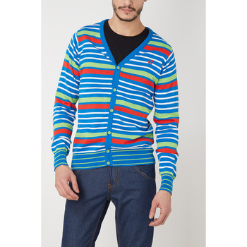 textil Hombre Chaquetas de punto Bestseller 24012070 VERDE
