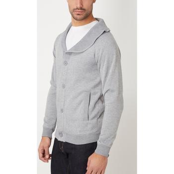 textil Hombre Chaquetas de punto War Wolf WY68213 GRIS