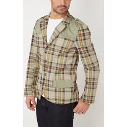 textil Hombre Chaquetas / Americana War Wolf H5369 BEIGE