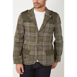 textil Hombre Chaquetas / Americana War Wolf H5369 VERDE
