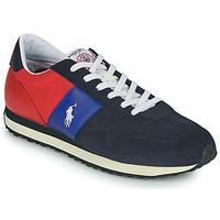 Zapatos Hombre Zapatillas bajas Polo Ralph Lauren TRAIN 85-SNEAKERS-ATHLETIC SHOE Marino / Rojo
