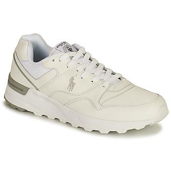 Zapatos Hombre Zapatillas bajas Polo Ralph Lauren TRCKSTR PONY-SNEAKERS-ATHLETIC SHOE Blanco