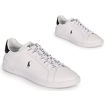 Zapatos Hombre Zapatillas bajas Polo Ralph Lauren HRT CT II-SNEAKERS-ATHLETIC SHOE Blanco / Negro