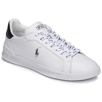 Zapatos Hombre Zapatillas bajas Polo Ralph Lauren HRT CT II-SNEAKERS-ATHLETIC SHOE Blanco / Marino