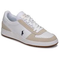 Zapatos Hombre Zapatillas bajas Polo Ralph Lauren POLO CRT PP-SNEAKERS-ATHLETIC SHOE Blanco