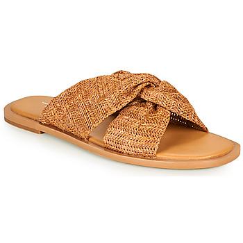 Zapatos Mujer Zuecos (Mules) Vanessa Wu SD2223CM Marrón