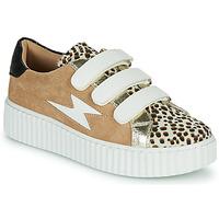 Zapatos Mujer Zapatillas bajas Vanessa Wu BK2206LP Beige / Leopardo