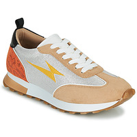 Zapatos Mujer Zapatillas bajas Vanessa Wu BK2268BG Beige / Amarillo / Naranja