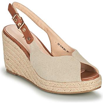 Zapatos Mujer Sandalias Vanessa Wu SD2238BG Beige / Marrón