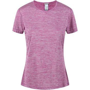 textil Mujer Camisetas manga corta Regatta  Violeta