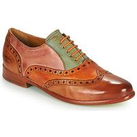 Zapatos Mujer Derbie Melvin & Hamilton SELINA 24 Marrón
