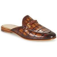 Zapatos Mujer Zuecos (Mules) Melvin & Hamilton SCARLETT 4 Marrón