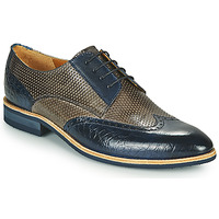 Zapatos Hombre Derbie Melvin & Hamilton BOBBY 1 Gris / Azul