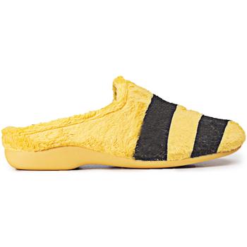 Zapatos Mujer Pantuflas Marpen Abeja Amarillo