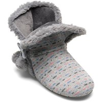 Zapatos Mujer Pantuflas Marpen Botín Gris