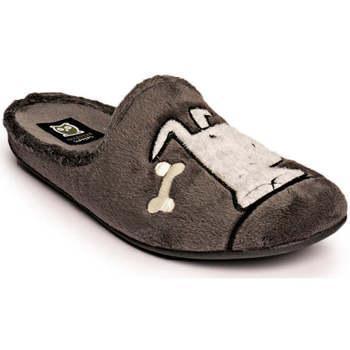 Zapatos Hombre Pantuflas Marpen Hueso Gris