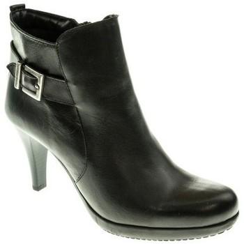 Zapatos Mujer Botines Moda Bella BOTIN MUJER  NEGRO Negro