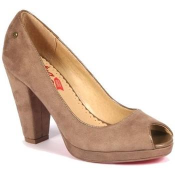 Zapatos Mujer Zapatos de tacón MTNG ZAPATO TACÓN  CAMEL Marrón
