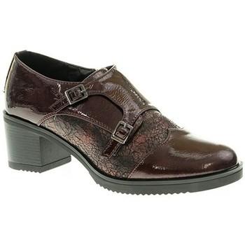 Zapatos Mujer Mocasín Deity ZAPATO TACÓN  BURDEOS Violeta