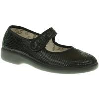 Zapatos Mujer Derbie & Richelieu Garzon ZAPATO PLANO  NEGRO Negro