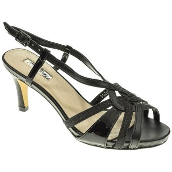 Zapatos Mujer Sandalias D Angela ZAPATO FIESTA  NEGRO Negro