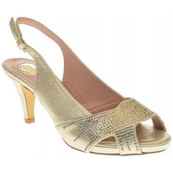 Zapatos Mujer Sandalias Destroy ZAPATO FIESTA  PLATINO Gris