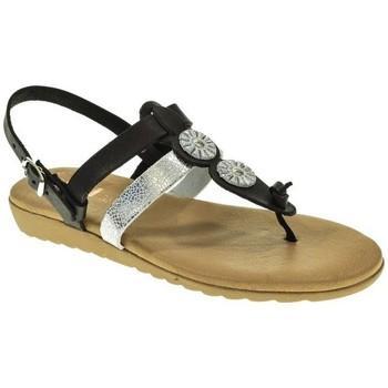 Zapatos Mujer Sandalias Duendy ESCLAVA MUJER  NEGRO Negro