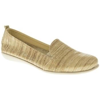 Zapatos Mujer Mocasín Moda Bella MOCASIN MUJER  TAUPE Marrón