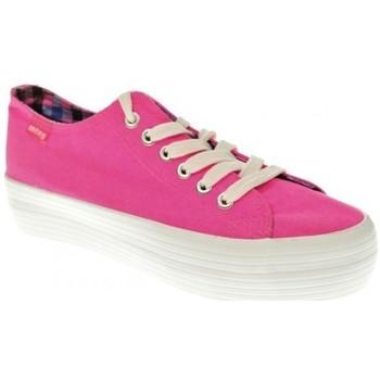 Zapatos Mujer Zapatillas bajas MTNG LONA MUJER  FUCSIA Rosa