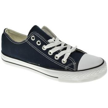 Zapatos Hombre Zapatillas bajas Meiva LONA HOMBRE  MARINO Azul