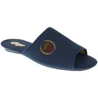 Zapatos Hombre Pantuflas Chamer ZAPATILLAS SR.  MARINO Azul